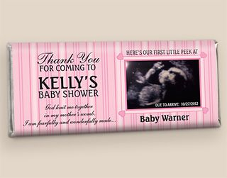 Custom Candy Bars for Baby Showers